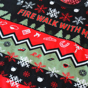Twin Peaks Fire Walk With Me Ugly Holiday Sweater