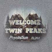 Twin Peaks Welcome to Twin Peaks Adult Long Sleeve T-Shirt