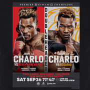 SHO Championship Boxing Charlo Doubleheader Adult Short Sleeve T-Shirt