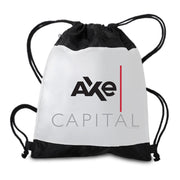Billions Axe Capital Stacked Logo Drawstring Bag