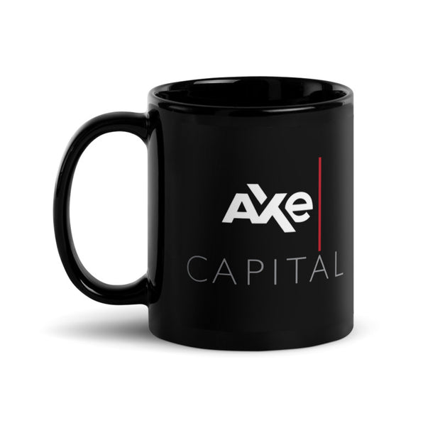Billions Axe Capital Stacked Logo Black Mug