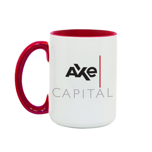 Billions Axe Capital Stacked Logo Two-Tone Mug