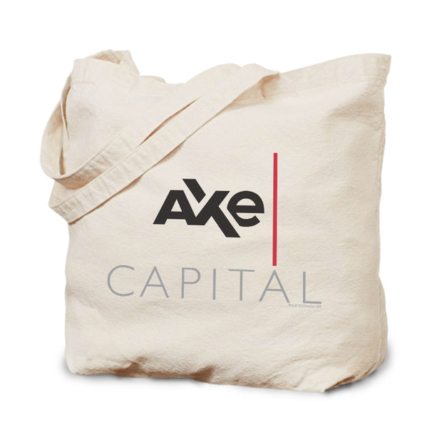 Billions Axe Capital Stacked Logo Canvas Tote