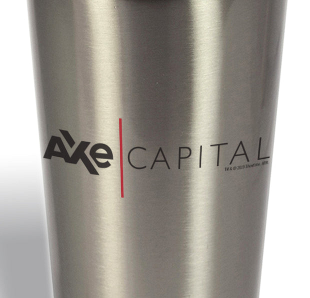 Billions Axe Capital Horizontal Logo 14 oz Stainless Steel Travel Mug