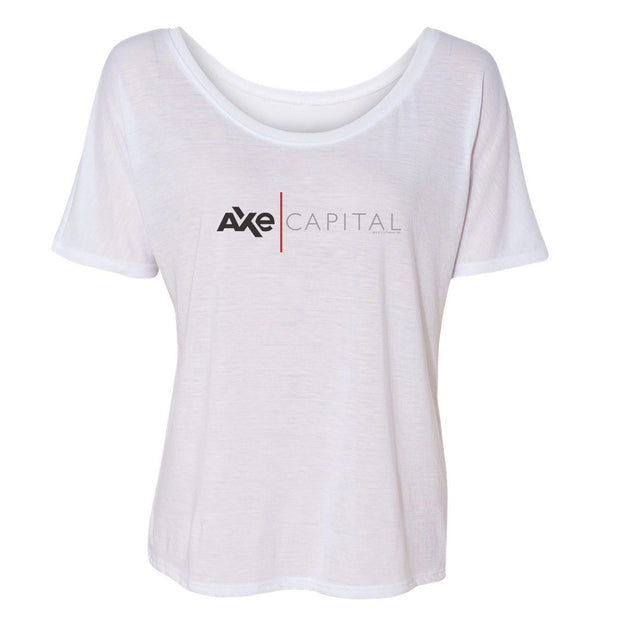 BillionsAxe Capital Horizontal Logo Women's Relaxed T-Shirt