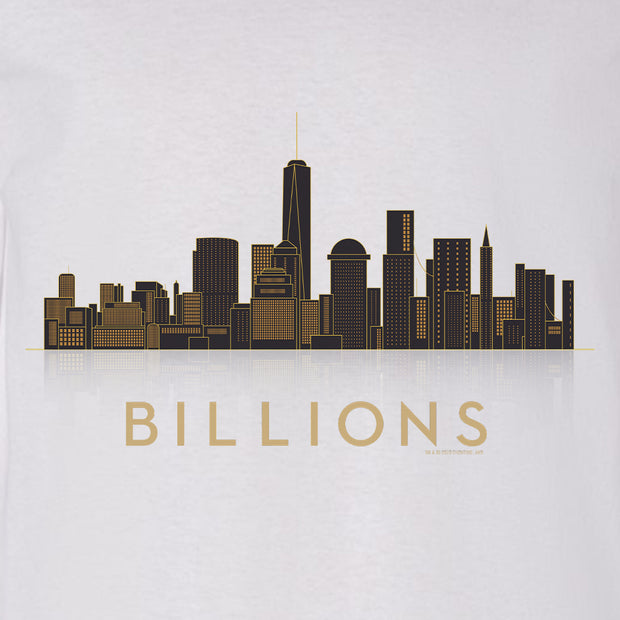 Billions Cityscape Adult Long Sleeve T-Shirt