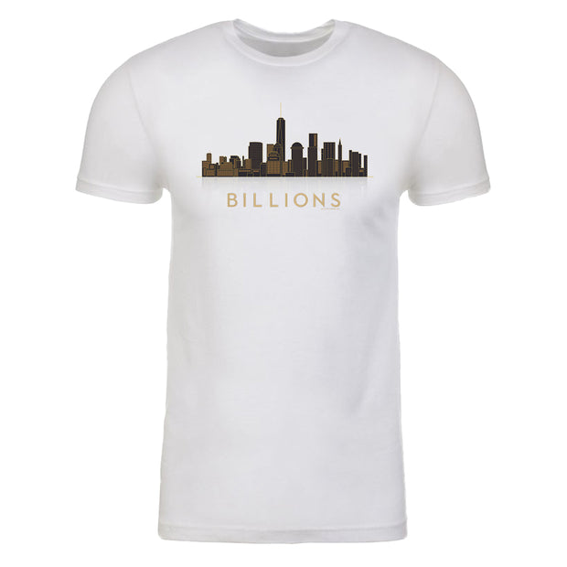 Billions Cityscape Adult Short Sleeve T-Shirt