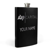 Billions Axe Capital Personalized Black Flask