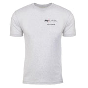 Billions Axe Capital Personalized Men's White Tri-Blend Short Sleeve T-Shirt