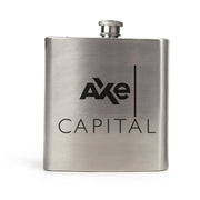 Billions Axe Capital Stacked Logo Stainless Steel Flask