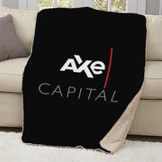 Billions Axe Capital Stacked Logo Sherpa Blanket
