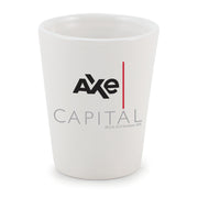 Billions Axe Capital Logo Ceramic Shot Glass