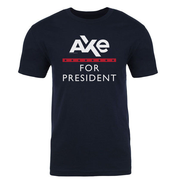 Billions Axe For President Adult Short Sleeve T-Shirt