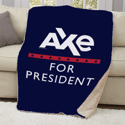 Billions Axe For President Sherpa Blanket
