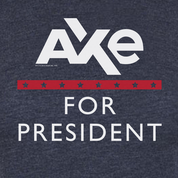 Billions Axe For President Women's Tri-Blend T-Shirt