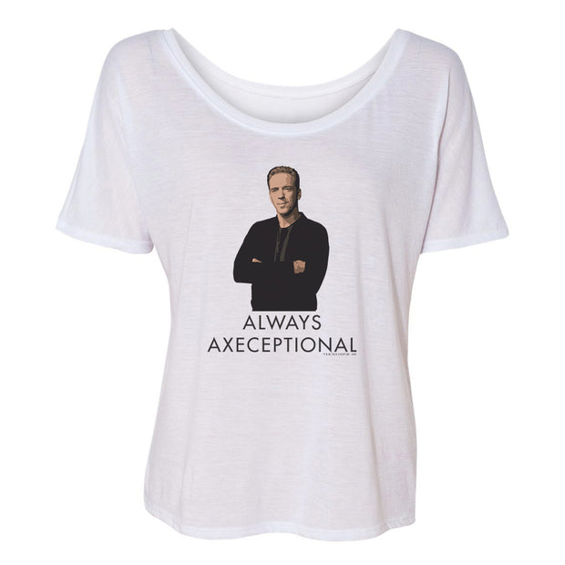 Billions Always Axeceptional Women's Relaxed Short Sleeve T-Shirt