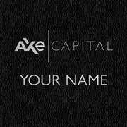 Billions Axe Capital Personalized Black Journal
