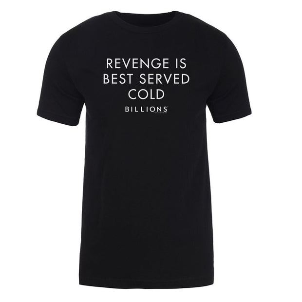 Billions Revenge Is Best Served Cold Adult Short Sleeve T-Shirt