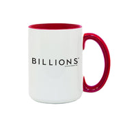Billions Team Axe 15 oz Two-Tone Mug