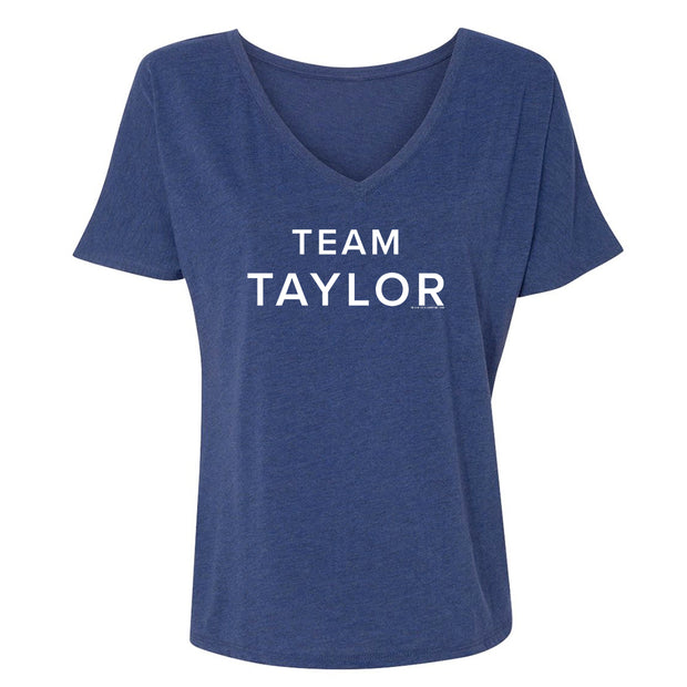 Billions Team Taylor Women's Relaxed V-Neck T-Shirt