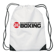 SHOWTIME Championship Boxing Logo Drawstring Bag
