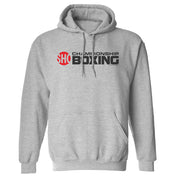 SHOWTIME Championship Boxing Logo Fleece Hooded Sweatshirt