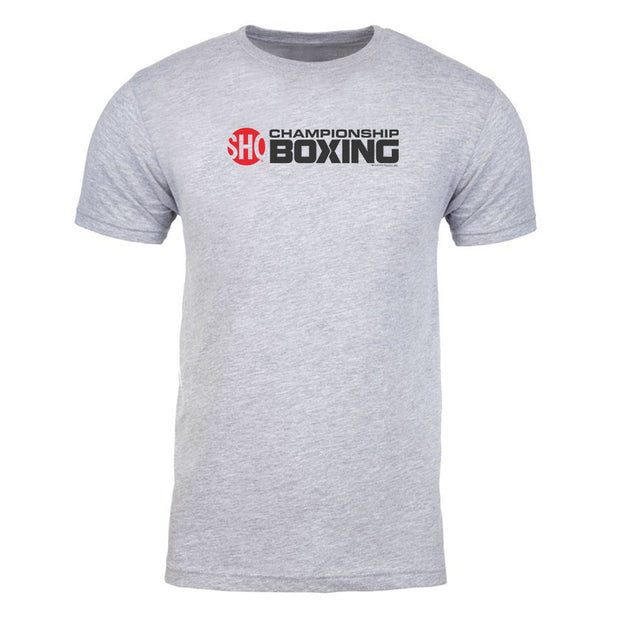 SHOWTIME Championship Boxing Logo Adult Short Sleeve T-Shirt