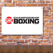 SHOWTIME Championship Boxing Logo Metal Sign