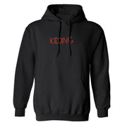 Kidding Season 3 Logo Fleece Hooded Sweatshirt