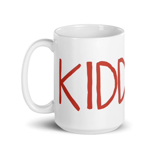 Kidding Season 3 Logo White Mug