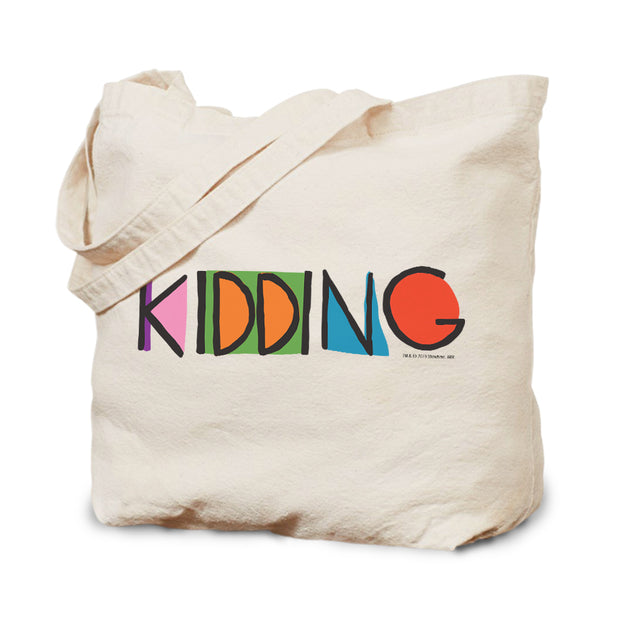 Kidding Color Logo Canvas Tote Bag