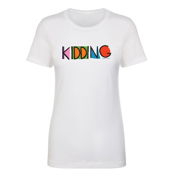 Kidding Color Logo Women's Short Sleeve T-Shirt