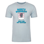 Kidding Dirty Dishes Adult Short Sleeve T-Shirt