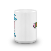Kidding Dirty Dishes 15 oz White Mug