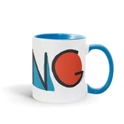 Kidding Color Logo Two Tone Mug