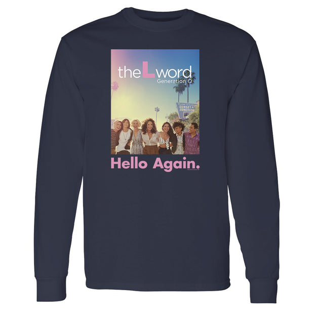 The L Word: Generation Q Hello Again Adult Long Sleeve T-Shirt