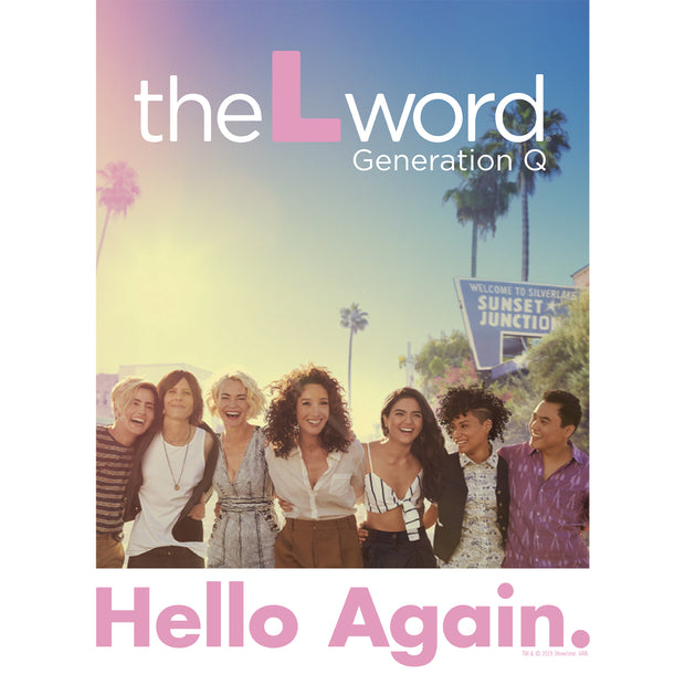 The L Word: Generation Q Hello Again 3/4 Sleeve Baseball T-Shirt