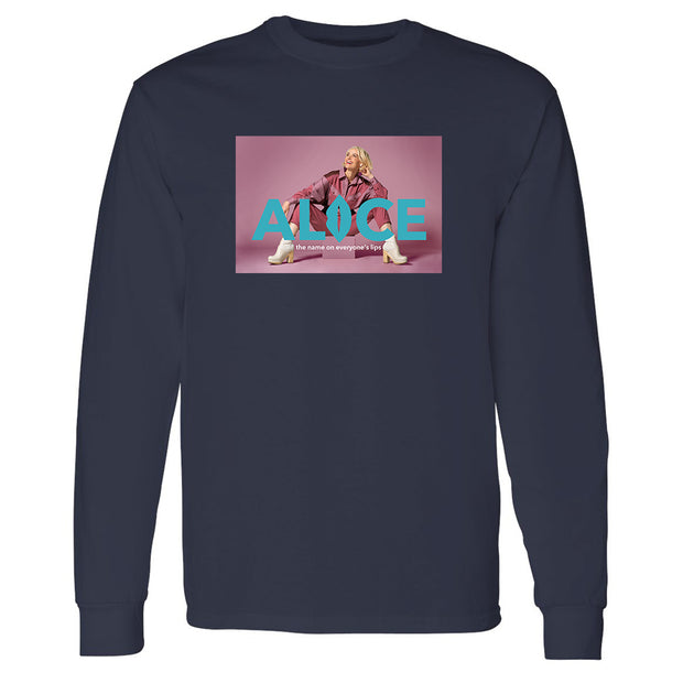 The L Word: Generation Q The Alice Show Season 2 Logo Adult Long Sleeve T-Shirt