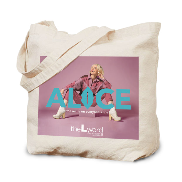 The L Word: Generation Q The Alice Show Season 2 Logo Canvas Tote