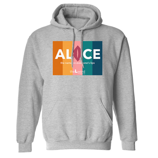 The L Word: Generation Q The Alice Show Logo Fleece Hooded Sweatshirt