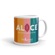The L Word: Generation Q The Alice Show Logo White Mug