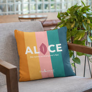 "The L Word: Generation Q The Alice Show Logo 16"" x 16"" Throw Pillow"