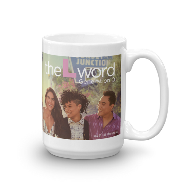The L Word: Generation Q Season 1 Art White Mug