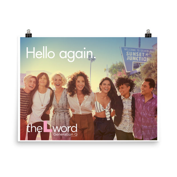 The L Word: Generation Q Season 1 Art Premium Satin Poster