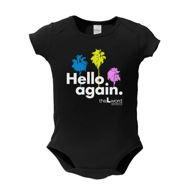 The L Word: Generation Q Hello Again Palm Trees Baby Bodysuit