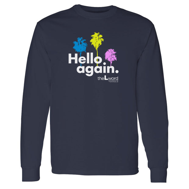 The L Word: Generation Q Hello Again Palm Trees Adult Long Sleeve T-Shirt