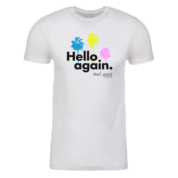 The L Word: Generation Q Hello Again Palm Trees Adult Short Sleeve T-Shirt