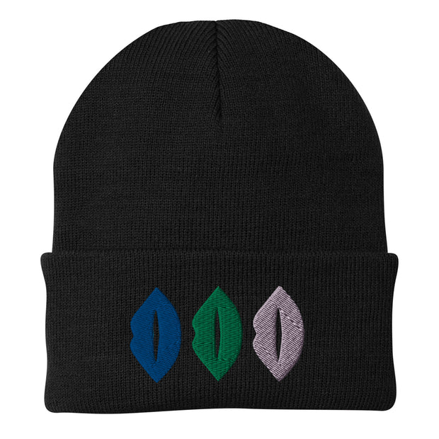 The L Word: Generation Q The Alice Show Lips Embroidered Beanie