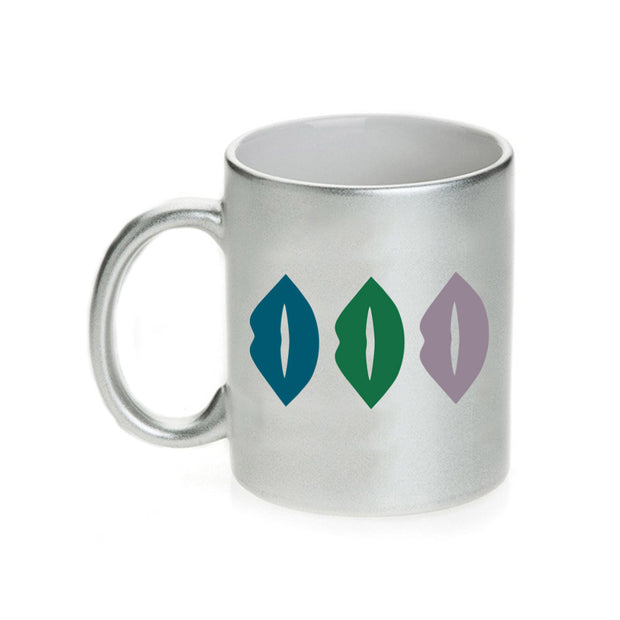 The L Word: Generation Q The Alice Show Lips 11 oz Silver Metallic Mug