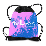 The L Word: Generation Q Palm Tree Logo Drawstring Bag